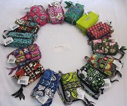 Vera Bradley ALL IN ONE Crossbody WALLET Coin CLUTCH Cards PHONE Wristlet NWT $35.95