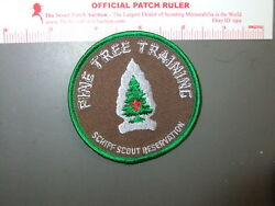 Boy Scout Schiff Reservation Pine Tree Training 8624ee