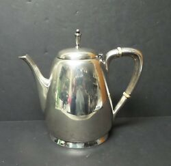 Reed And Barton Town And Country Sterling Silver Mid-century Teapot 560 Grams