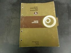 John Deere 4219d Oem Engines And Accessories Parts Catalog  Pc-1417