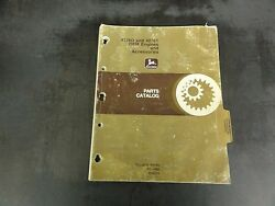 John Deere 4276d And 4276t Oem Engines And Accessories Parts Catalog    Pc-1469