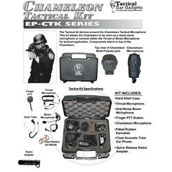 CHAMELEON Quick Release Tactical Kit for ICOM F Series 2-Way Radios (See List)