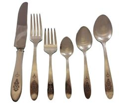 Bird Of Paradise By Community Silverplate Flatware Set For 12 Service 80 Pieces