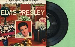Elvis Presley / Sings Christmas Songs / Rca Victor Epa-4108 Press Usa 1957 Ep Ex