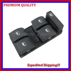 Electric Power Panel Window Switch For Audi A6 05-11 New 4f0959851f Ws517
