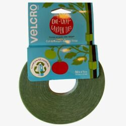 Velcro Green Plant Ties 50 Ft Cut To Length Garden Trellis Secures Support Tape