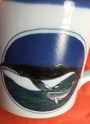 Coffee Cup Mug Whales Mom And Baby Animals Endangered Species Fish Ocean