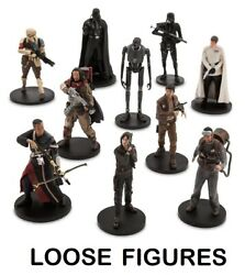 Rogue One Star Wars Story Deluxe Figurine Figure Doll Cake Topper Playset -loose