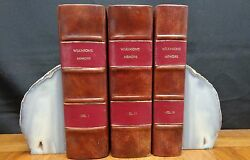 Memoirs Of My Own Times - Three Volumes By General James Wilkinson 1816