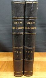 Sketches Of The Life And Correspondence Of Nathanael Greene - 2 Volumes 1822