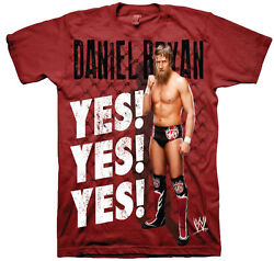 WWE Daniel Bryan Yes Yes Yes Youth T-shirt - Officially Licensed Apparel $19.99