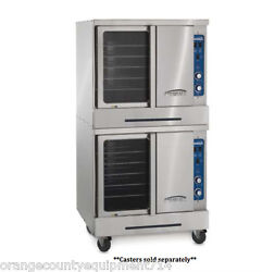 NEW Double Deck Electric Convection Oven Imperial ICVE-2 #4561 Restaurant NSF