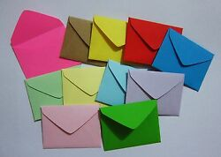 Handmade small envelopes 1-12