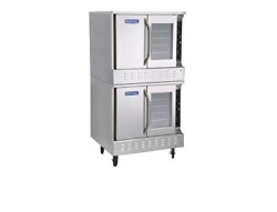 NEW Double Stack Convection Oven Gas Standard Depth NSF Royal RCOS-2 3401 Bakery