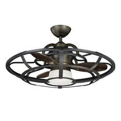 Savoy House 26 Alsace Fan D' Lier, Reclaimed Wood And Metal - 26-9536-fd-196