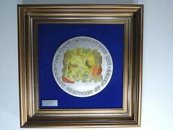 1995 Isaiah's Peace Prophecy Modelia By Marc Chagall 600g Pure Silver 493/499