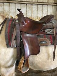 Reining Saddle Rods Equestrian 16
