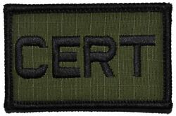 CERT Community Emergency Response Team - 2x3 Patch