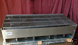 New 48 Lava Rock Gas Char Broiler Grill Stratus Scb-48 1227 Commercial Bbq Usa