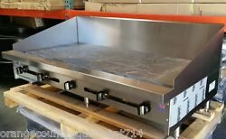 New 60 Griddle 12 Back Splash Gas Flat Top Grill Stratus Smg-60-sb-12h 4100