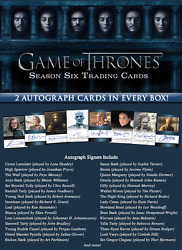 2017 Game Of Thrones Season 6 Factory Sealed Trading Card Case 12 Boxes Sketch
