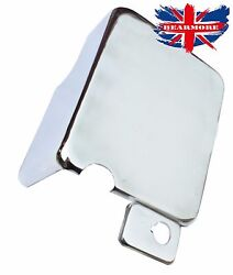 14amp Battery Carrier Cover Box Chrome Cover Classic Royal Enfield Motorbike @uk