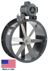 TUBE AXIAL DUCT FAN - Belt Drive - 27
