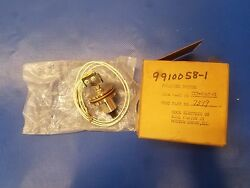 Cessna 310 421 Pressure Switch Auxiliary Fuel P/n 9910058-1 Nos 0417-134
