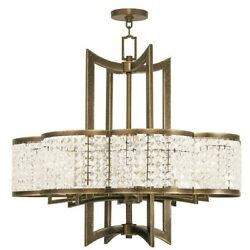 Livex Lighting Grammercy Chandeliers, Hand Painted Palacial Bronze - 50578-64