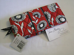 Vera Bradley DECO DAISY Gallery WALLET CLUTCH for PURSE Tote BACKPACK Bag  NWT