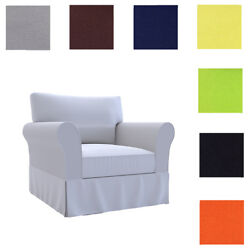 Custom Made Cover Fits Pottery Barn Basic Armchair Replace Pb Basic Chair Cover