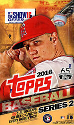 2016 Topps Baseball Series 2 - Pick A Player - Cards 352-525