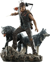 Amc The Walking Dead Daryl Dixon And The Wolves Statuehorrortvgentle Giantnib