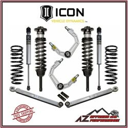 Icon 0-3.5 Stage 3 Suspension Lift System Billet For 10-14 Toyota Fj Cruiser