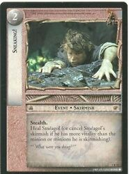 Lord Of The Rings Ccg Card Rotk 7.r73 Sneaking