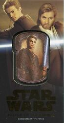 Star Wars Attack Of The Clones 3d Bronze [50] Patch Relic Mp-2 Anakin Skywalker