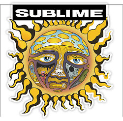Sublime Sun Freedom *SIZES* Vinyl Sticker Decal Bumper Wall