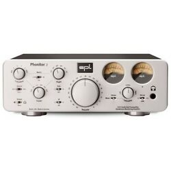 Spl Phonitor 2 Headphone Amp/preamp Silver-for Balanced And Unbalanced Headphones