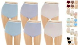 Breezies~Set of 5~Cotton Briefs Panties with UltimAir~A22766~Choice of Sizes