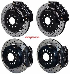 Wilwood Disc Brake Kit2005-2014 Ford Mustang13/12 Rotors6/4 Piston Calipers