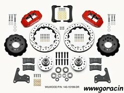 Wilwood Forged Narrow Superlite 6r Front Brake Kit Fits Fury,12.88drilled Rotor