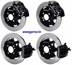 Wilwood Front And Rear Disc Brake Kit Fits 2002-2015 Mini-cooperlinescalipers