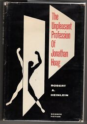 The Unpleasant Profession Of Jonathan Hoag By Robert A Heinlein First Edition- H