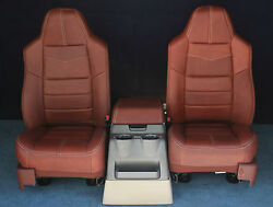 2010 2009 2008 F250 F350 King Ranch Front Seats & Console New Condition