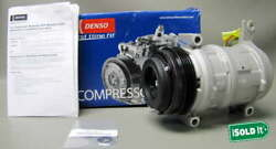 NEW DENSO 471-9186 COMPRESSOR WITH CLUTCH FITS 99-02 FULL SZ CHEVY TRUCK MODELS