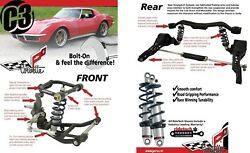 Ridetech Complete Coil-Over Suspension System wswaybars fits 68-79 C3 Corvette-