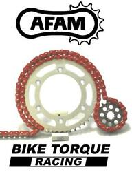 Ducati 800 Monster 03-06 Afam Upgrade Red Chain And Sprocket Kit