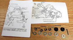 1955 56 1957 58 1959 Chevy Truck Shift Linkage Bushing And Anti Rattle Spring Kit