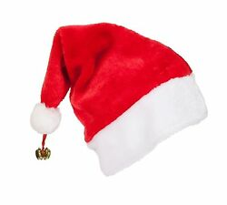 Unisex Father Christmas Xmas Santa Family Hat For Adult Kid Baby Jingle Bell Lot