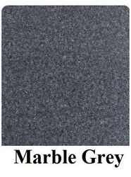 20 Oz Cutpile Marine Outdoor Bass Boat Carpet 1st Quality 8.5and039 X 25and039 Marble Grey